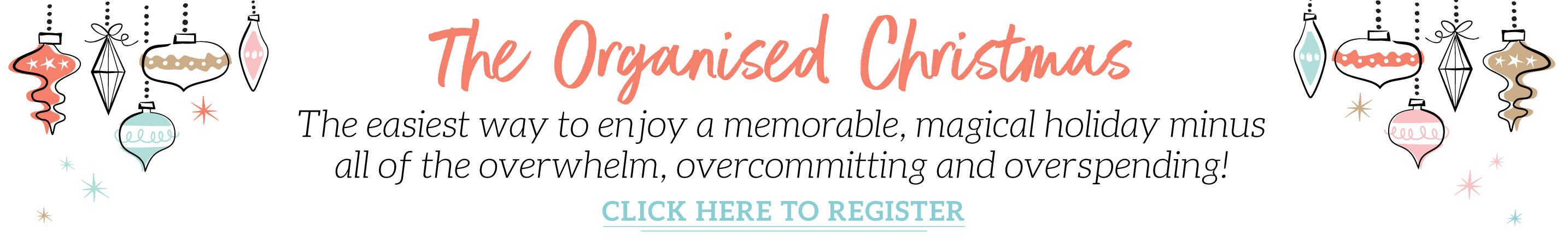 The Organised Christmas eCourse_register-now