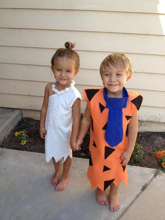 Amazing WILMA AND FRED FLINTSTONE U2013 How Absolutely Adorable Do These Two Look In  Their Wilma And Fred Flintstone Costumes! Image Credit  Babyboyhalloweencostumes
