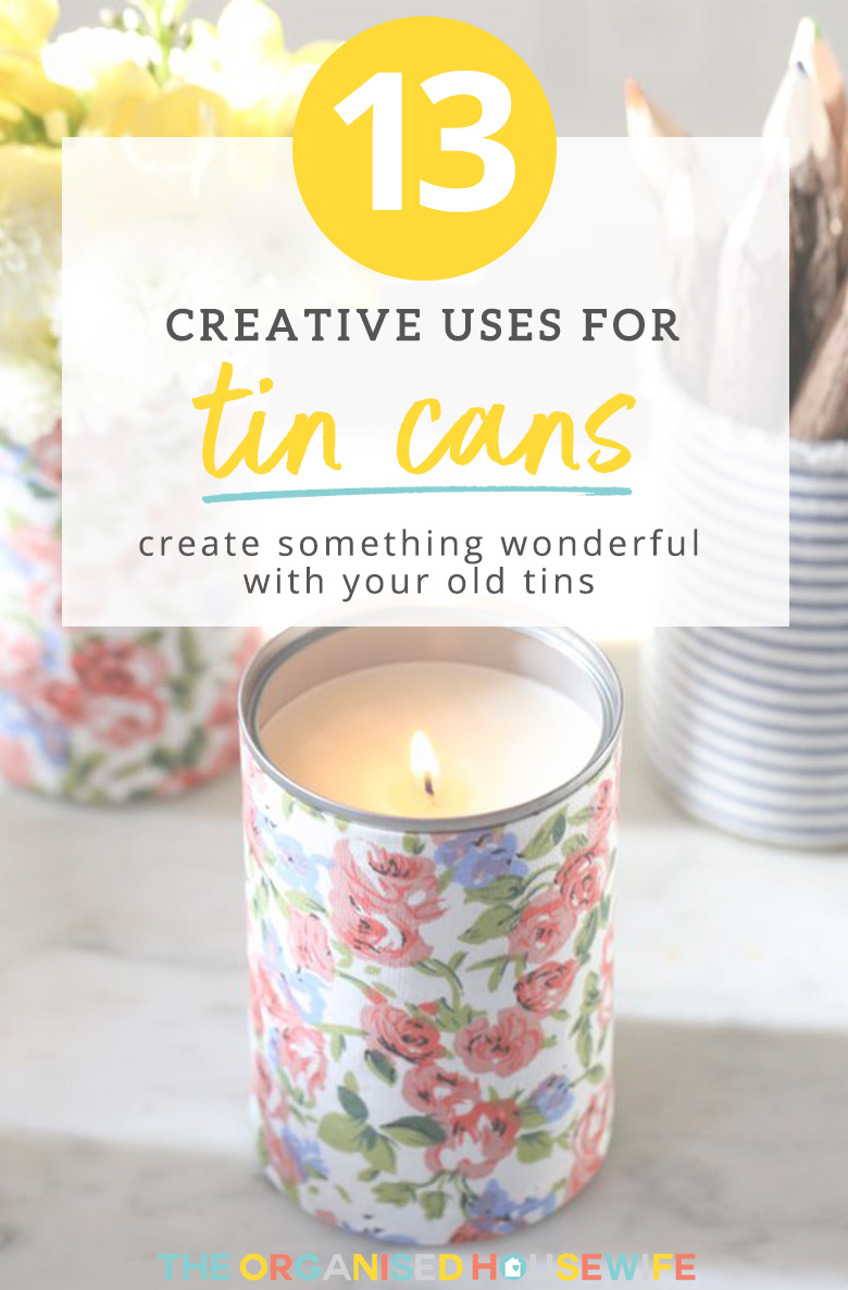 creative uses for tin cans