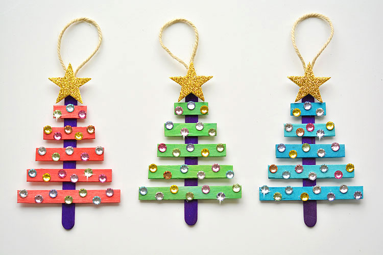Over 100 Diy Christmas Craft Ideas For All Ages The Organised