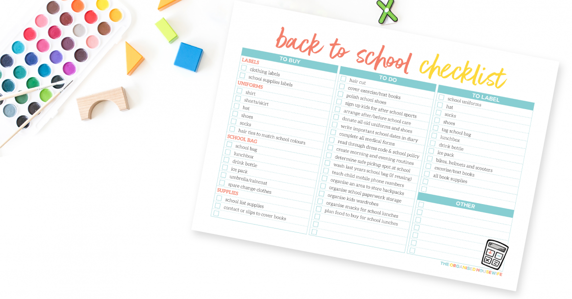 Many parents find it difficult to keep up with busy school schedules, so I've shared some of my top tips to help you be back to school organised!