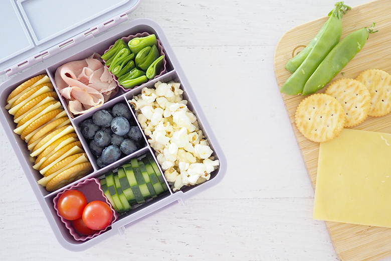 Stress free lunch box ideas for school. When to make school lunches.
