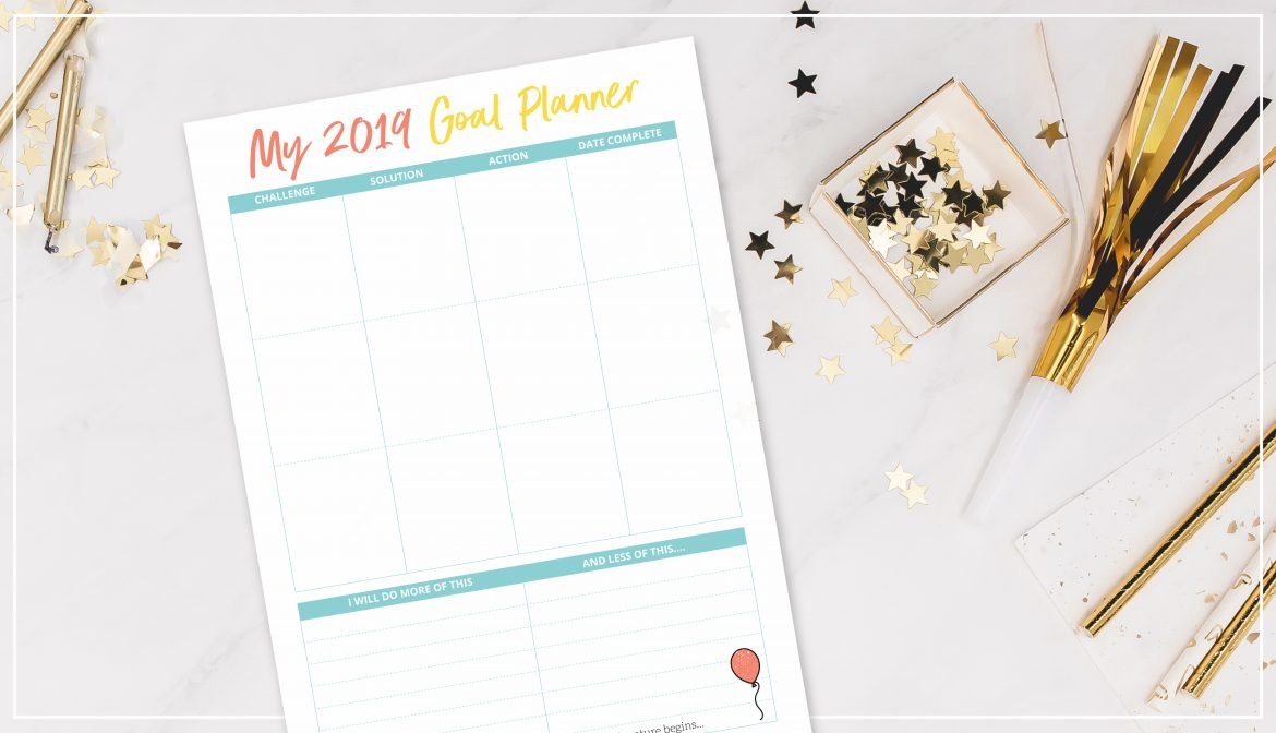 There are many resolutions circling around this morning, I've put together a list of 20 ideas to inspire you with your resolutions + as a special gift to you download my NEW YEARS GOAL PLANNER as a free download!