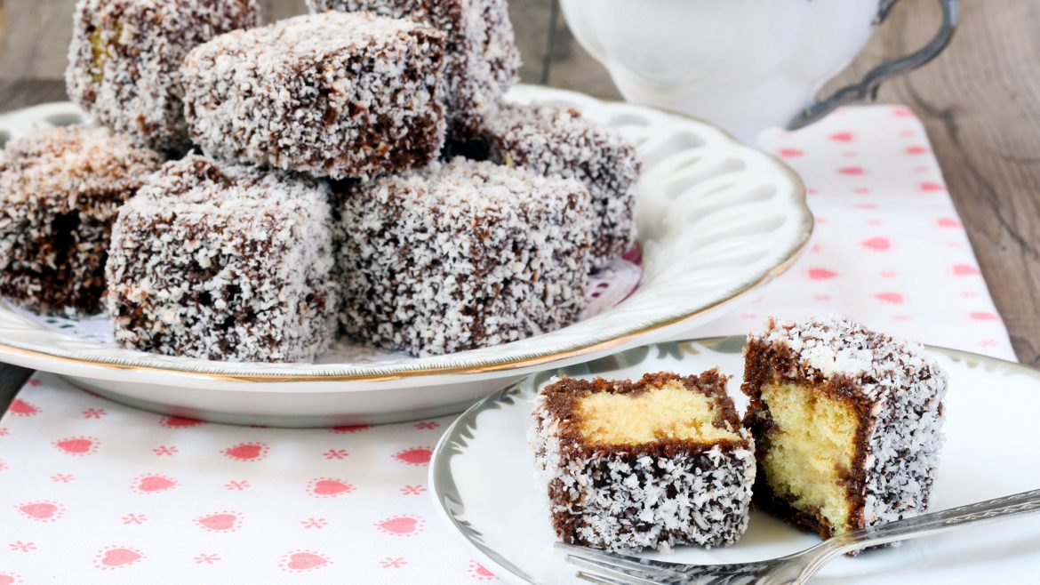 Celebrate Australia Day with Lamingtons