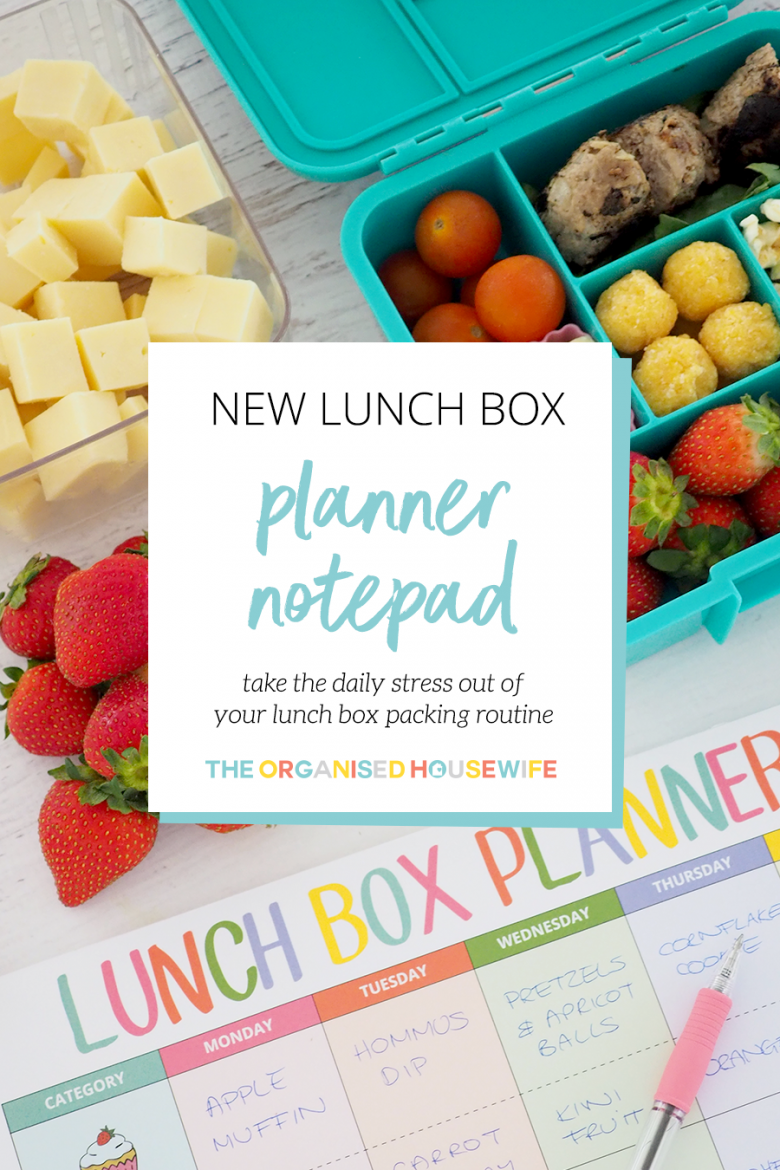 "Have you have woken up in the morning and gone to pack your children's lunch boxes and had that moment of panic thinking, ""What will I put in their lunch boxes today?"" I've created a Lunch Box Planner Pad to save your sanity!!"