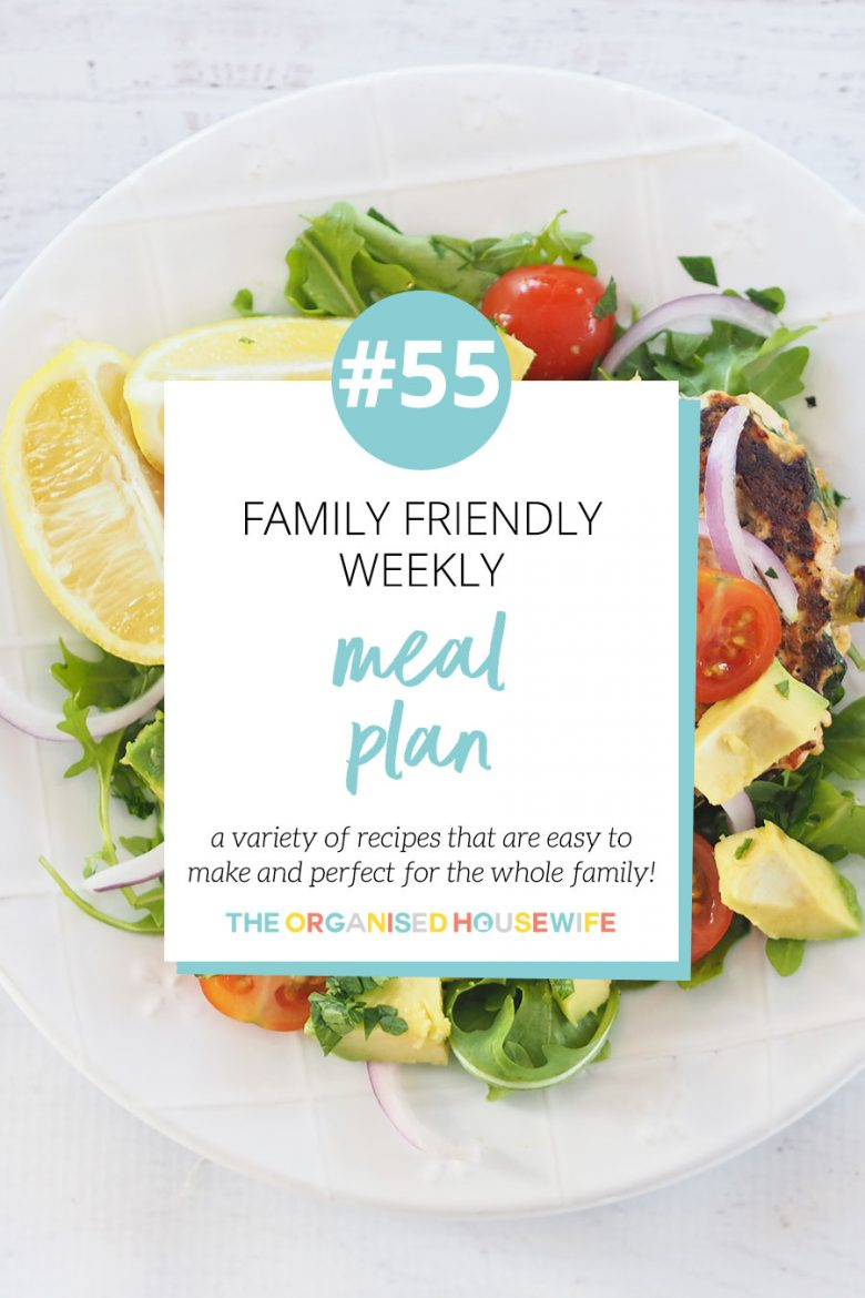 My Weekly Meal Plans are back, and I aim to inspire you with a variety of yummy recipes that are quick and easy to make, and delicious, so the whole family will love them. Be inspired by some of the meals in this week's Family Meal Plan!!!