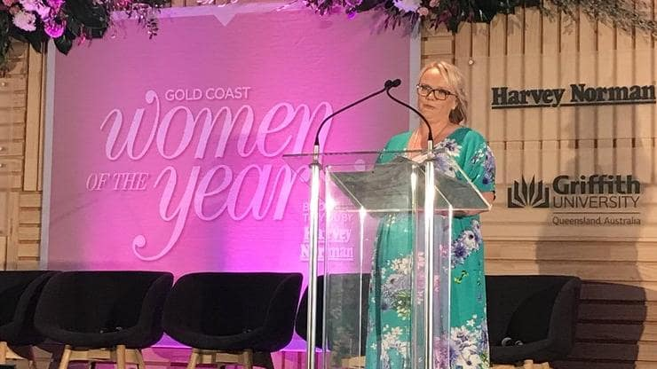 It is such a dream to have won Gold Coast Women of the Year People's Choice Award. I am very proud and humbled!