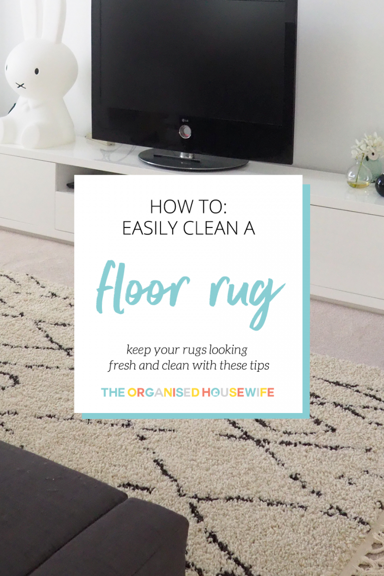 Floor rugs can make a room feel more cosy and homey, but they can get dirty easily.  Keep your rugs looking fresh and clean with these tips for basic care, deep cleaning and stain removal.
