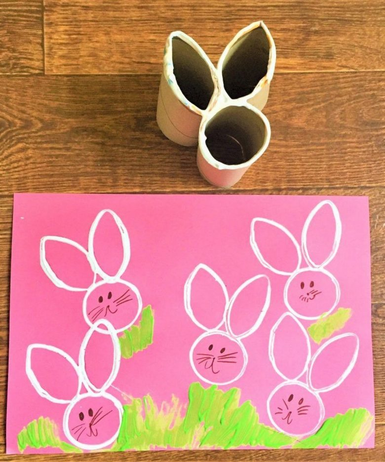 DIY Easter Craft Ideas Bunny Ears and Paint 2019