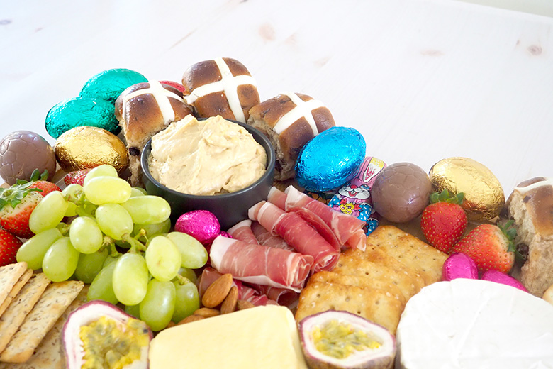 Entertaining made easy this Easter, with this quick simple guide to a delicious Easter Grazing Platter - I've even done the shopping list for you!