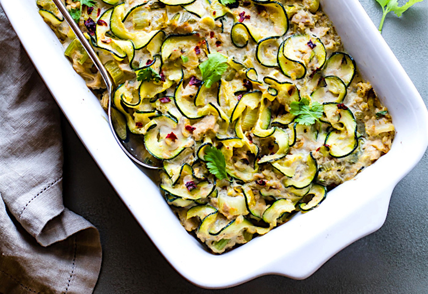 Paleo meal plan. Zucchini bake. Family meal ideas.