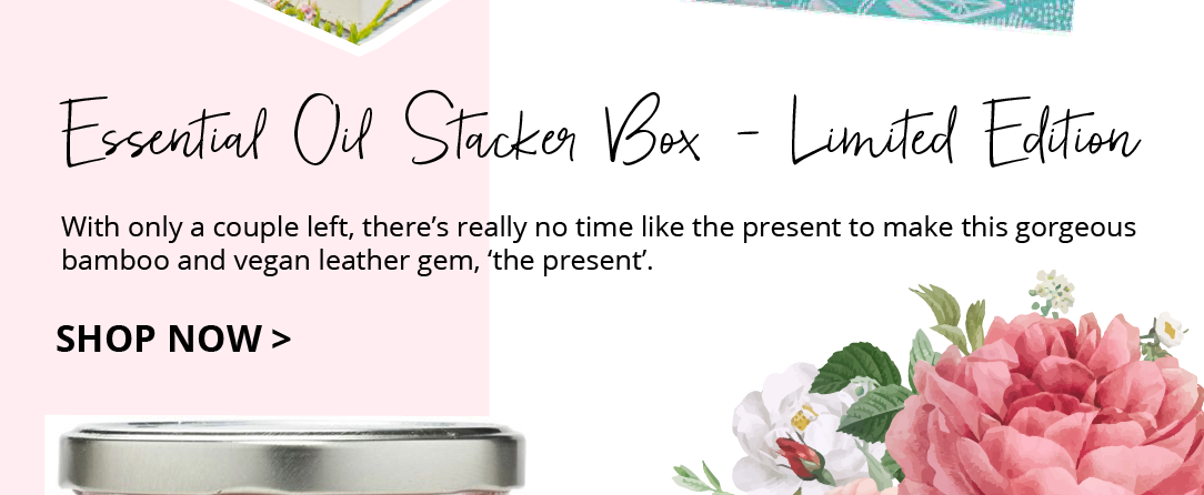 Essential oil storage box for mums this Mothers Day. Part of 2019 Gift Guide.