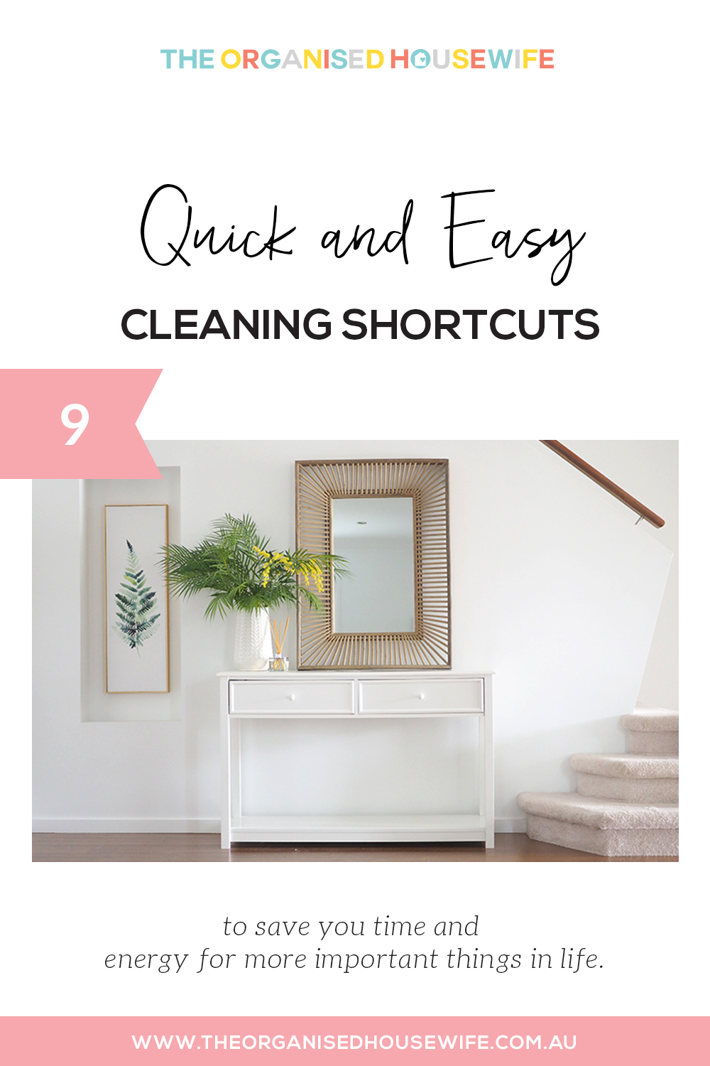 quick and easy cleaning shortcuts to save you time
