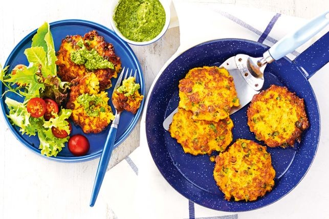 Pumpkin and Chickpea Pattie recipe