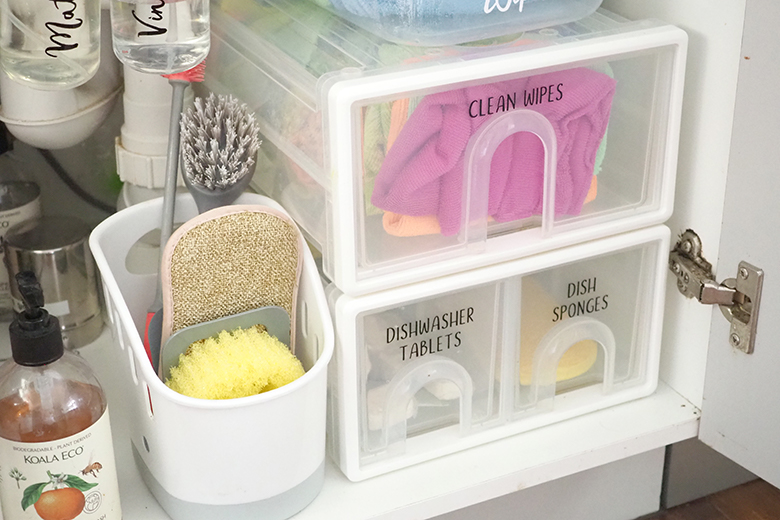 Sink tidy caddy product