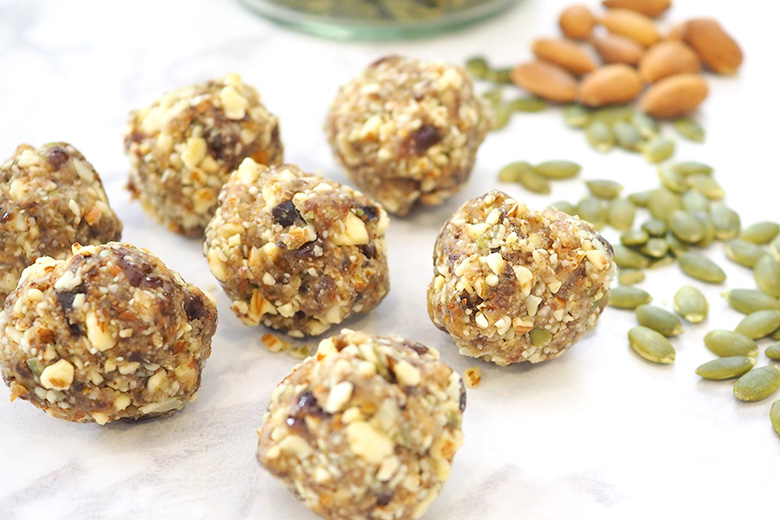 Almond and Pumpkin Seed Bliss Balls Recipe