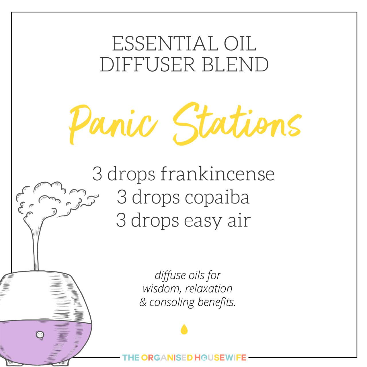 Calming essential oil blend for anxious minds