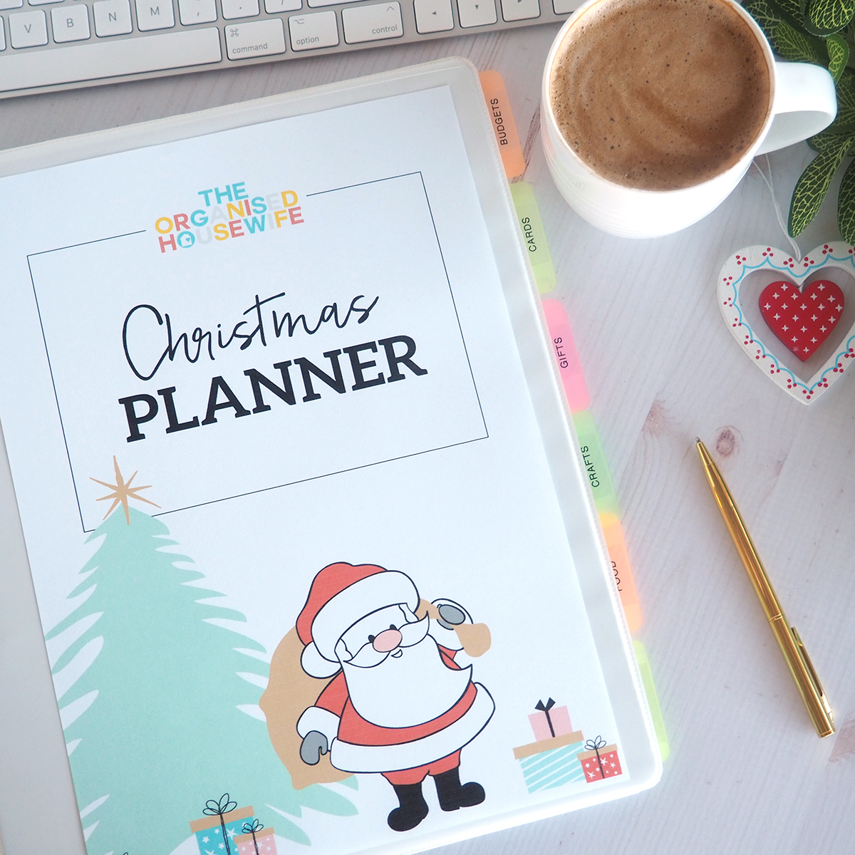 christmas planner for organised xmas