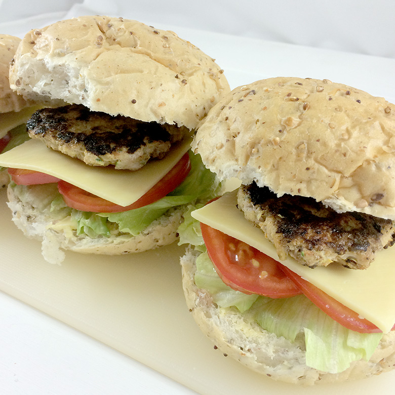 Chicken Hamburgers recipe