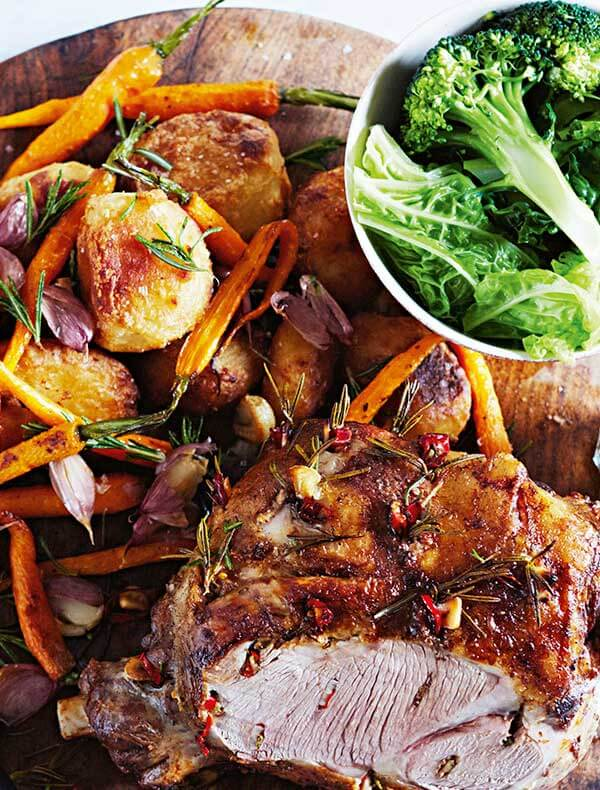 Jamie's Straight Up Roast Lamb Recipe