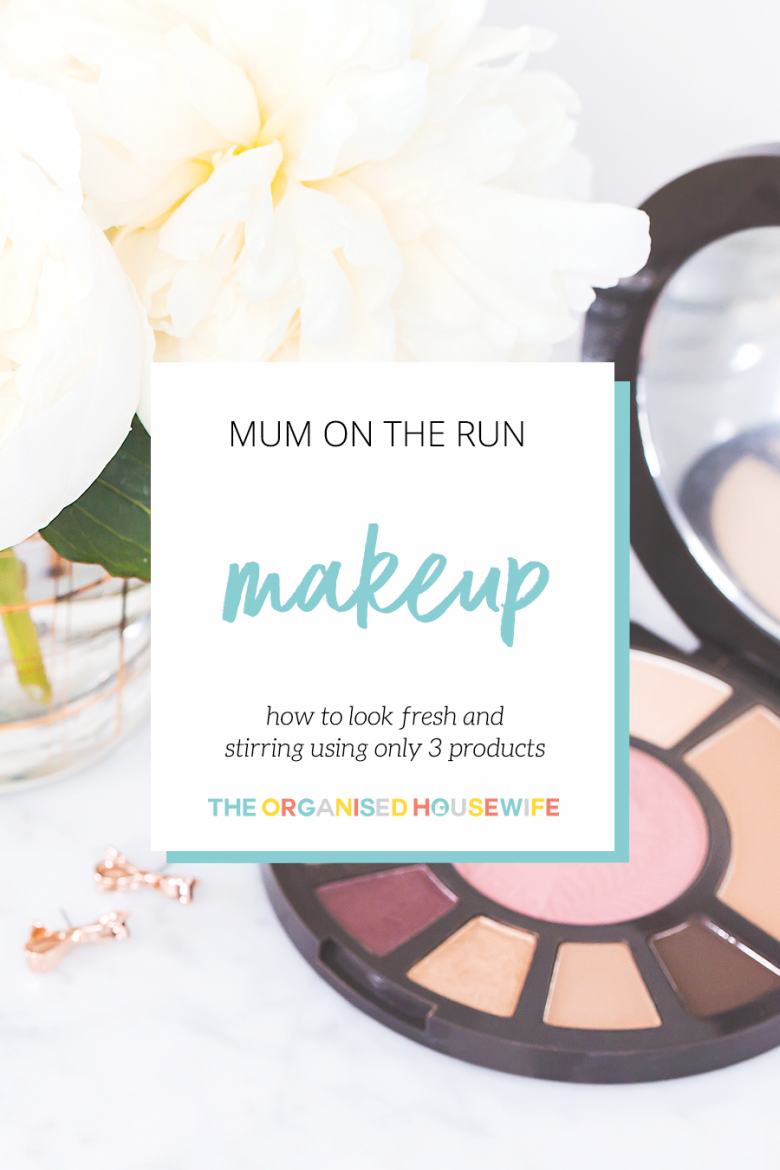 Quick makeup tips for busy mums
