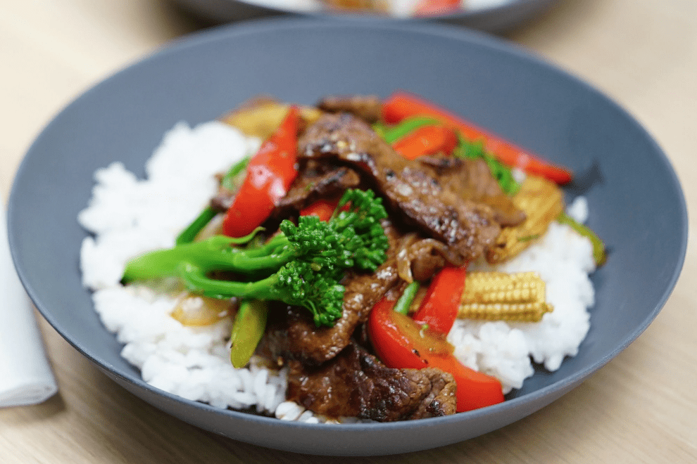 Basic Beef and Vegetable Stir Fry Recipe