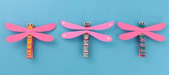 Clothes peg craft ideas for school holidays