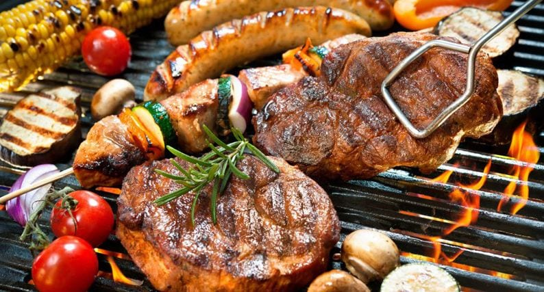 BBQ meal planning ideas for 7 day week meal plan