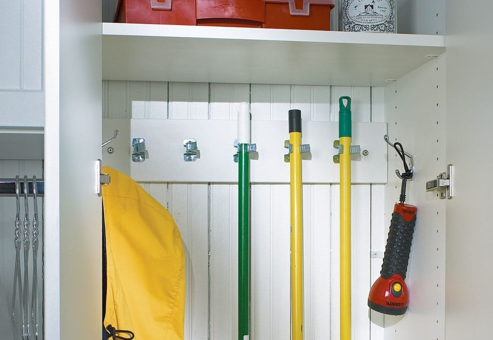 Broom Cupboard and cleaning closet tidy tips