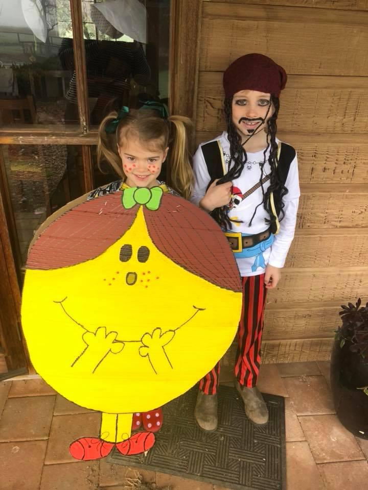Captain Jack Sparrow and Little Miss Magic Book Week Costume Ideas