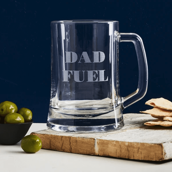 Dad beer glass present idea for Father's Day Australia 2019