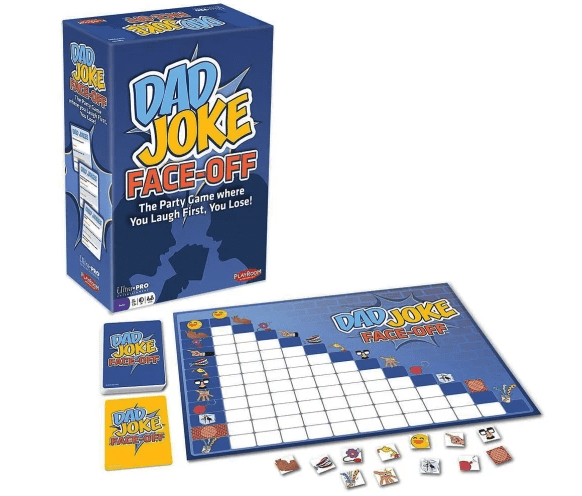 Dad joke board game present idea for Father's Day