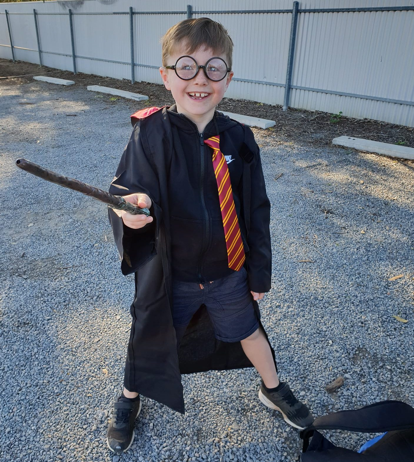 Harry Potter Book Week outfit idea