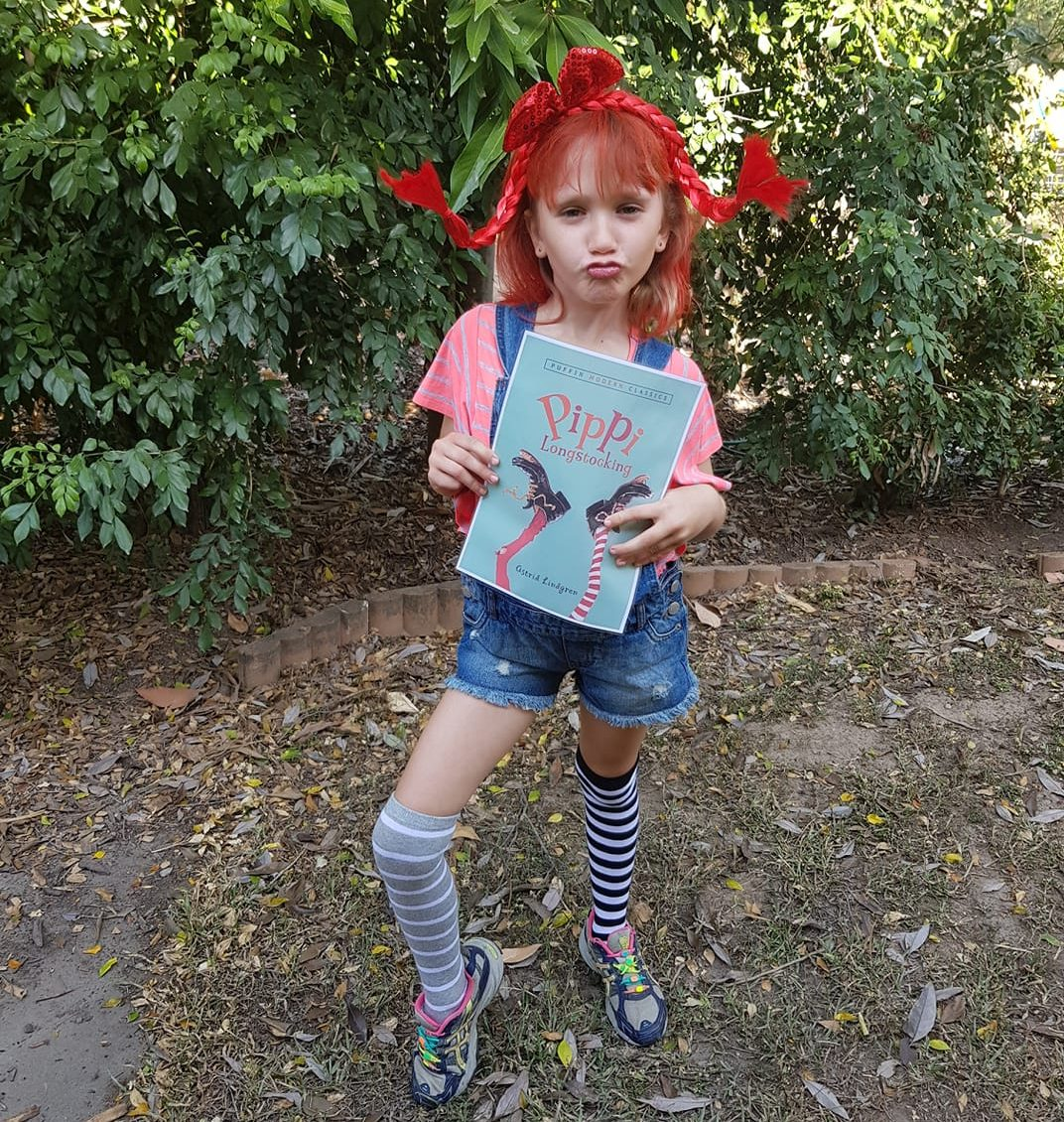 Pippi Longstocking Book Week Costume Idea for 2019