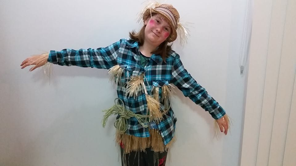 The scarecrow and the Cowardly Lion costume Book Week 2019