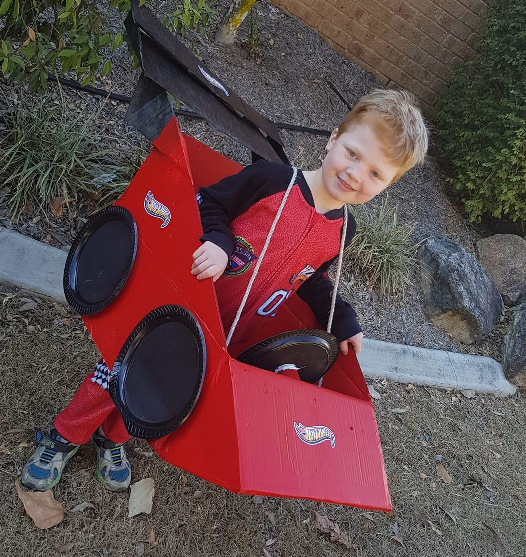 Car outfit for Book Week 2019 Costume - Hot Wheels