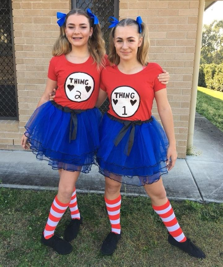 Dr Seuss Thing Book Week Costume Idea for 2019