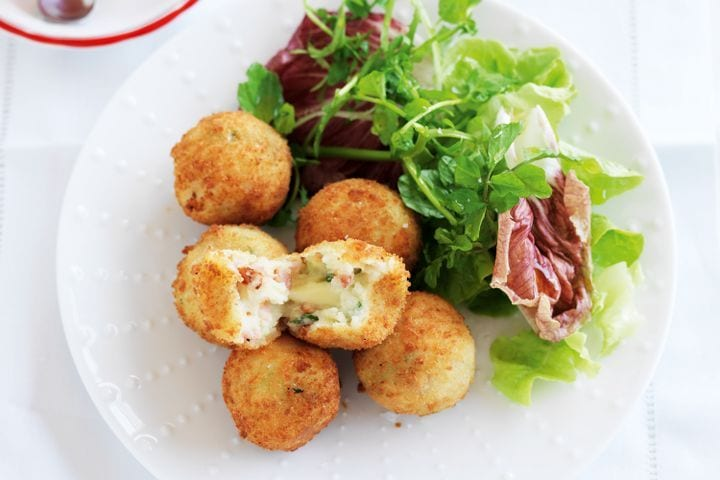 Easy tasty Bacon and Cheese Croquettes Recipe
