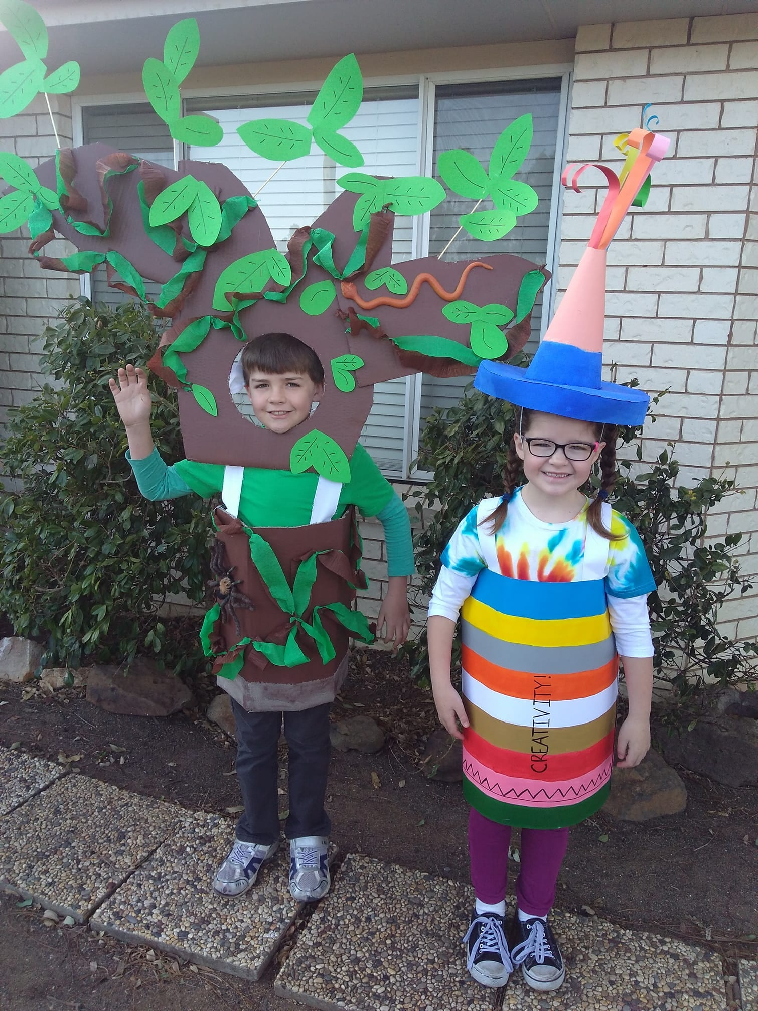 Where the Forest Meets the Sea and The Creativity Crayon Book Week Costume Ideas