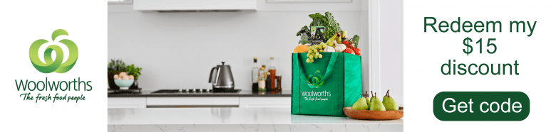 Redeem woolworths discount for online shopping