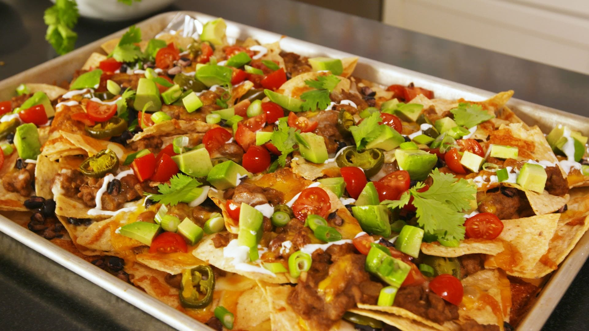 Nachos supreme recipe for meal planning busy week