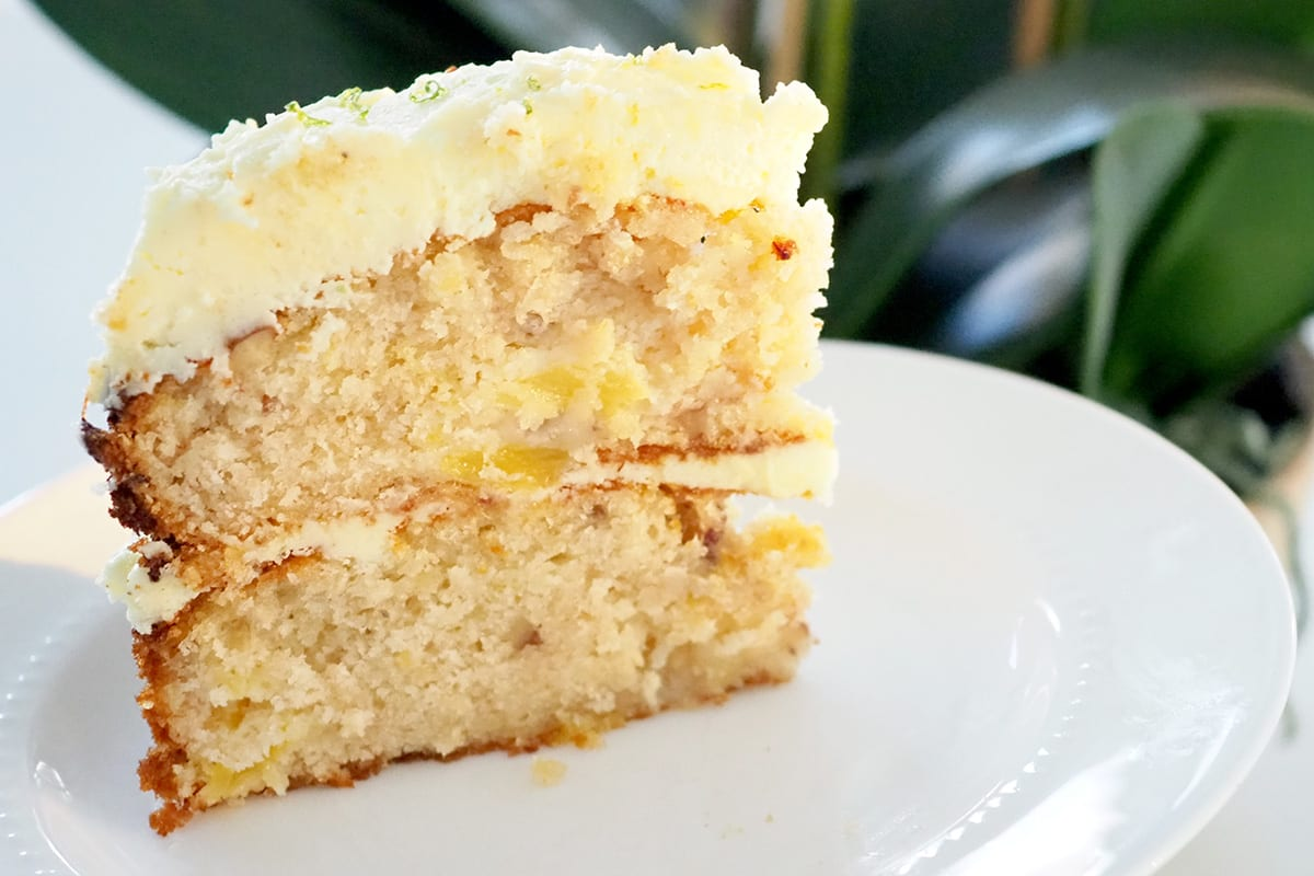 Hummingbird cake recipe by The Organised Housewife