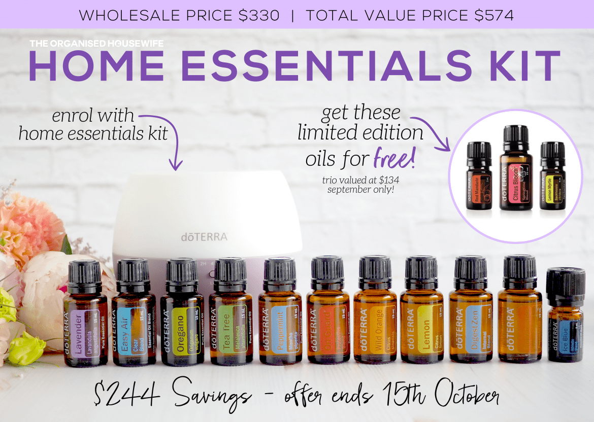 Doterra Christmas Gift Ideas.Current Doterra Australia Promotions The Organised Housewife