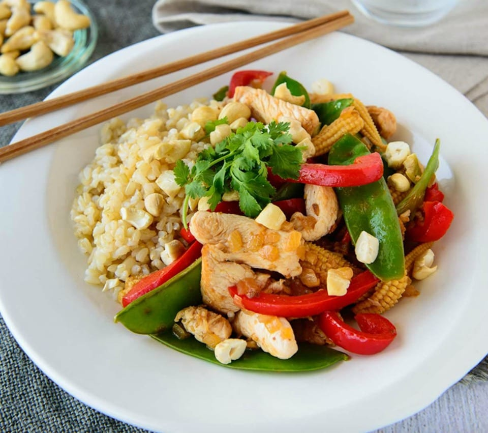 Honey lemon and ginger chicken recipe for busy meal planning weeks