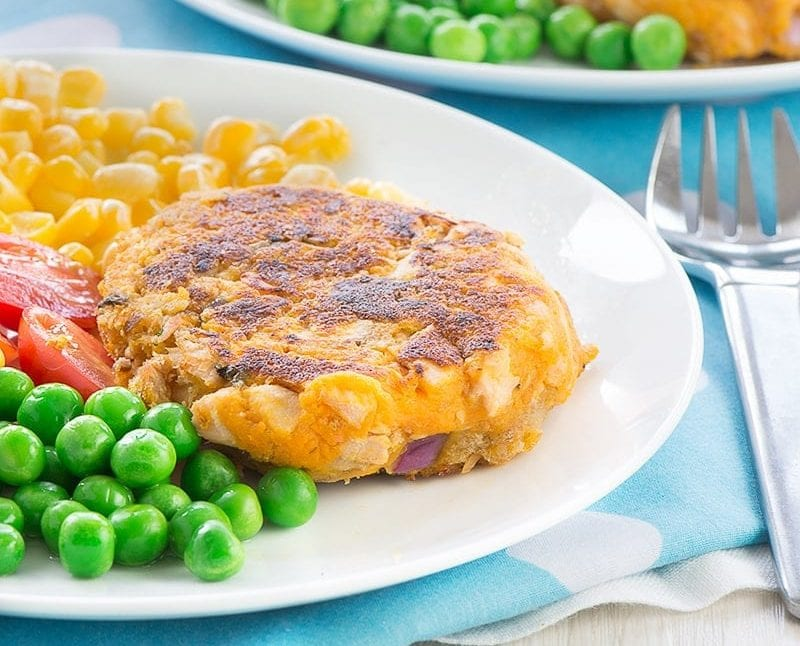 Salmon fish cakes easy recipe for meal planning