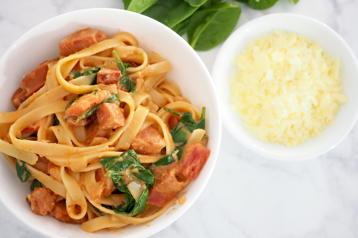 Quick and easy Creamy Chorizo Pasta recipe