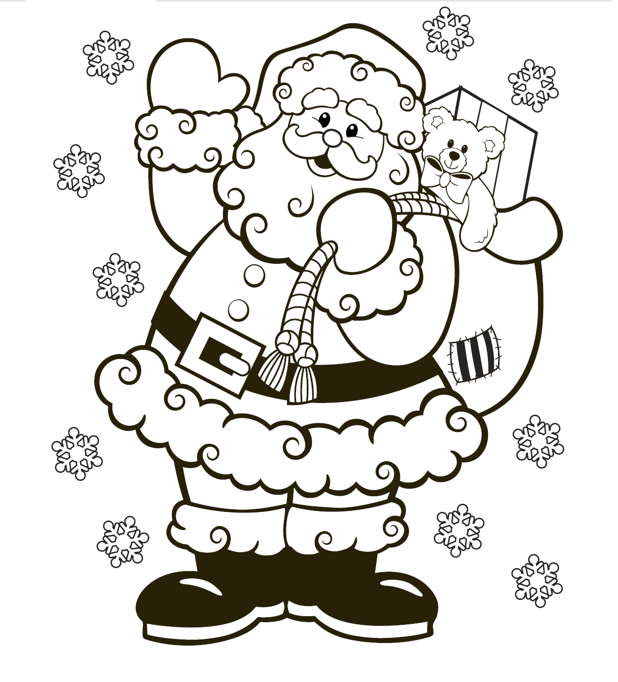 Christmas Toys Coloring Pages - Toy Store Shelves Christmas ... | 1347x1221