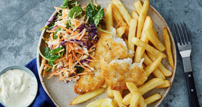 Fast fish and chips dinner suggestion