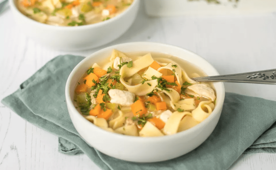 Turkey Noodle soup broth recipe
