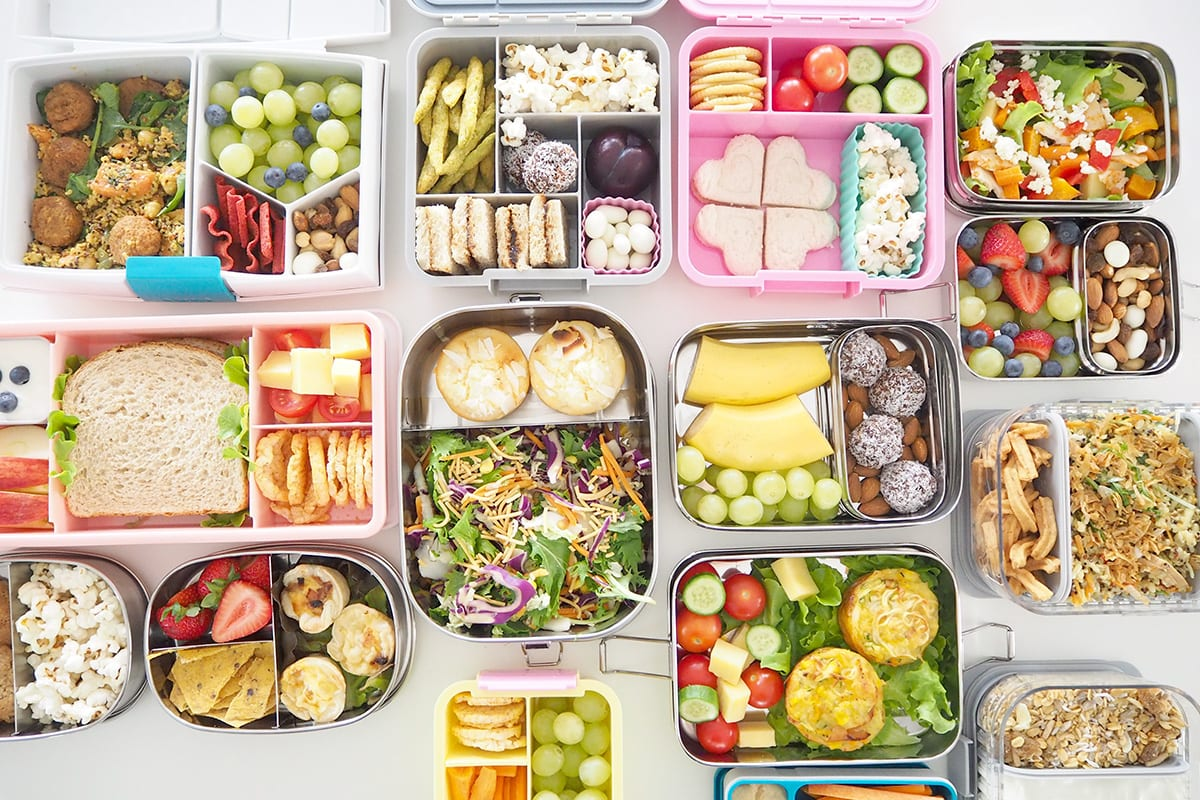 BACK TO SCHOOL - Packing a Healthy Lunch box - The Organised Housewife